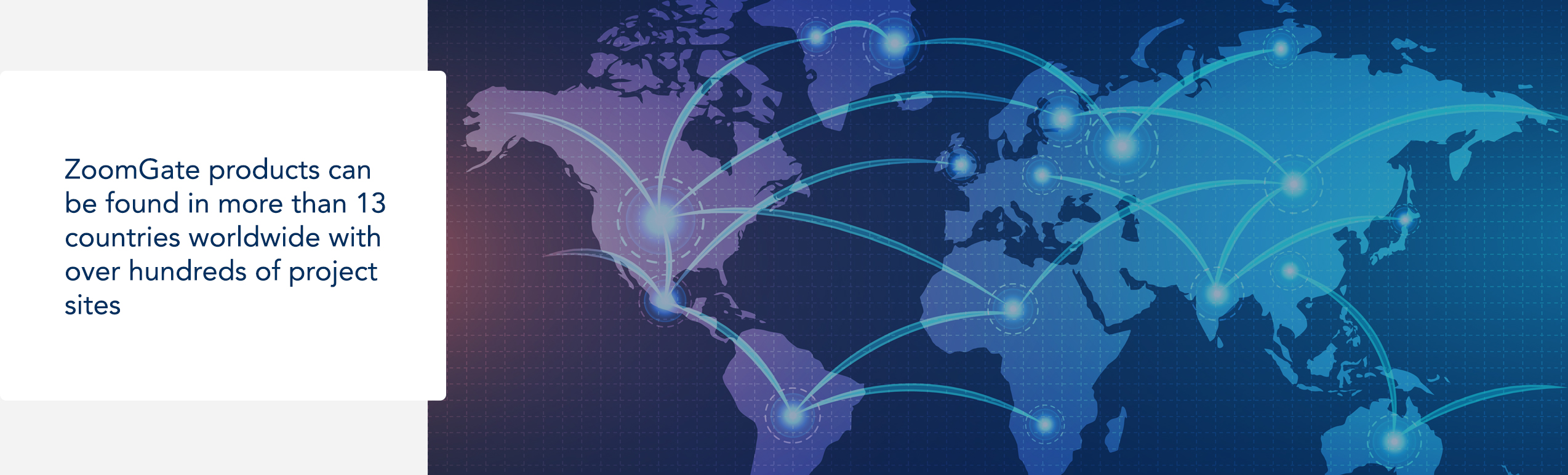 ZoomGate Global presence